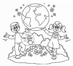 Earth Coloring Pages For Kids With Days Of Creation Coloring Pages