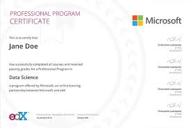 Microsoft Professional Program In Entry Level Software Development Edx