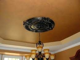 Ceiling Medallions Lowes Simple Chandelier Ceiling Medallion Modern Ceiling Medallion Brown