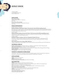 Creative Vs Effective Resume Elwin Lee S Blog