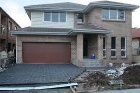 garage door color ideas for brick house home desain 2018