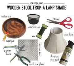 low cost found how to make a stool from lamp shade little regarding tiny shades designs 10