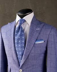 Light Blue Windowpane Suit Summer Windowpane This Beautiful King Bay Lapis Blue