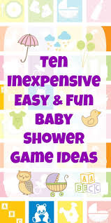 10 Inexpensive, Easy & Fun Baby Shower Game Ideas | Baby Shower ...