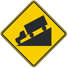blank road signs test. Exellent Test Hill Warning Road Signs  Intended Blank Test