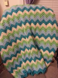 Baby Ripple Afghan Pattern New Decorating