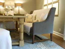dining room table with upholstered bench. Minimalist Dining Table With Upholstered Bench And Chairs Transitional On Room Benches Backs B