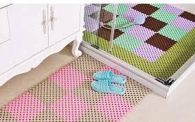 foot diy splice shower mat anti slip bathroom tub mosaic splice puzzle pad square massage