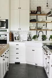 black cabinet pulls on gray cabinets. black hardware: kitchen cabinet ideas pulls on gray cabinets