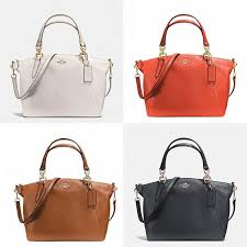 NEW Coach F36675 F54272 Small Kelsey Satchel In Pebble Leather Crossbody Bag