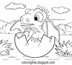 99+ ideas Cute Baby Dragon Coloring Pages on www.gerardduchemann.com