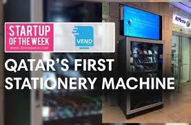 Vending Machine Business Toronto Awesome Vend Station A Vending Machine That Provides You With Stationery