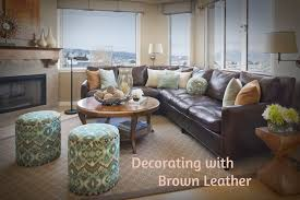 decorating with brown its common knowledge that leather furniture