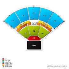 Brandon Amphitheatre Seating Chart Brandon Amphitheater Tickets