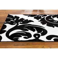 black and white area rugs bring bold statement with black and white area rugs contemporary h35