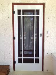 aluminum security screen door. Unique Aluminum Security Door Backyards Craftsman Screen Storm Doors Yesteryears Vintage I