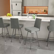 Modern Kitchen Counter Stools Furniture Wooden Framed Cream Upholstered Counter Stools Fileove