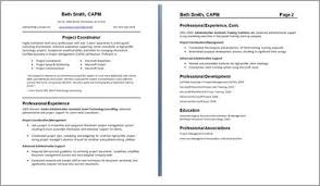 How To Format A Two Page Resume Sonicajuegos Com