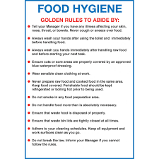 Kitchen Hygiene Rules Hygiene Rules In The Kitchen Rome Fontanacountryinn Com