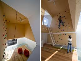 Small Picture Modern homes featuring a rock climbing wall Trampolines