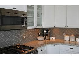 lush taupe glass subway tile in herringbone pattern kitchen glass subway tile backsplash jpg 1000x750 white