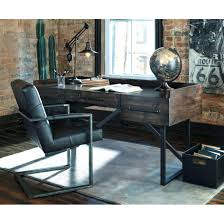 amusing modern rustic industrial home office desk with steel base office furniture rustic office desk chairs 919x919