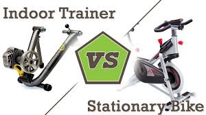 Indoor Cycling Trainer Vs Stationary Bike Trainer Youtube