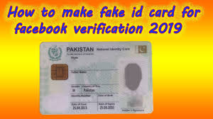 Card For Fake 2019 In - Verification Make To Technical By Youtube Haseeb How Facebook Id
