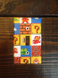 Mario Bros Bedroom Decor Super Mario Brothers Light Switch And Other Style Covers