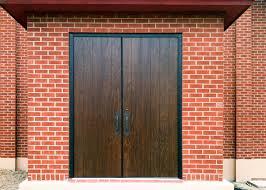 how to refinish wood grain fiberglass doors