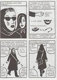 the veil in persepolis essays beyond the veil graphic marjane satrapi s elaborate simplicity persepolis the comics grid