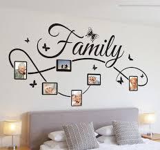 family photo frame wall sticker
