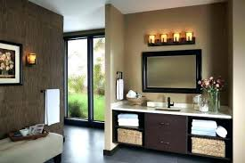 Bathroom Vanity Lighting Inspiration Fashionable Bathroom Vanity Lights Oil Rubbed Bronze Oiled Bronze
