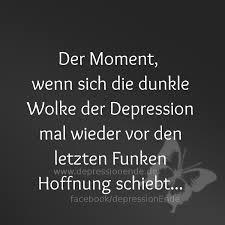 Hoffnungslos Der Moment Wenn Sich Dunkle Wolke Der Depression Mal