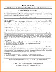 Retail Merchandising Manager Resume Sample Objective Apparel