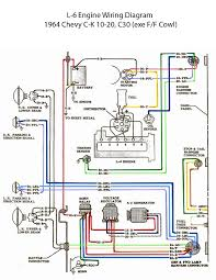 electric l 6 engine wiring diagram '60s chevy c10 wiring 1965 Chevy Truck Wiring Diagram electric l 6 engine wiring diagram wiring diagram for 1965 chevy truck