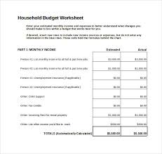 excel template monthly budget 7 monthly budget spreadsheet templates free word excel pdf