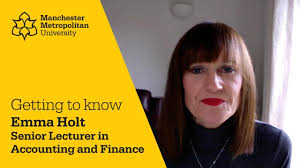 Getting to know Emma Holt | Senior Lecturer in Accounting, Finance and  Banking - YouTube
