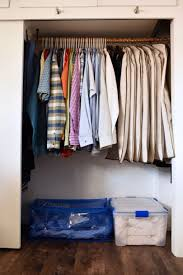 small closet organiation trick that will keep your closet neat and organized and give you more