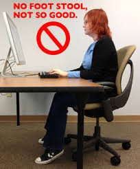desk ergonomics for improved posture