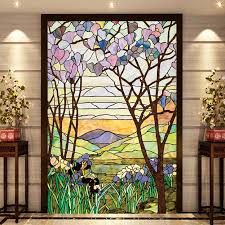european church mosaic art glass stained window opaque with stained glass for windows renovation