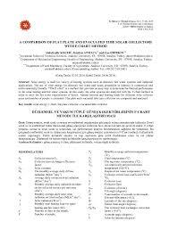 Pdf A Comparison Of Flat Plate And Evacuated Tube Solar