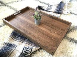 wooden coffee table tray rustic wooden ottoman tray coffee table tray serving tray wooden tray rustic