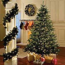 Christmas Decorations  Garland Without Lights  ChristmastopiacomArtificial Christmas Tree Without Lights