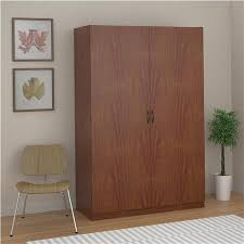 furniture for hanging clothes. kendrick wardrobe storage closet brown oak furniture for hanging clothes n