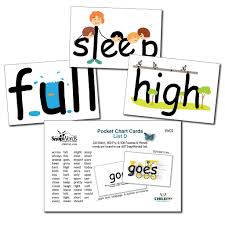 Where To Buy Pocket Charts Sight Words In Pictures For Visual Kinesthetic Right