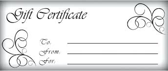 free printable christmas gift certificate templates homemade gift vouchers templates gift certificates templates free