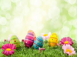 Easter Eggs Clipart Backgrounds For Powerpoint Templates