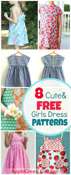 Little Girl Dress Patterns Stunning 48 Adorable Free Little Girl Dress Patterns AppleGreen Cottage