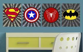 justice league kids room decor vinyl